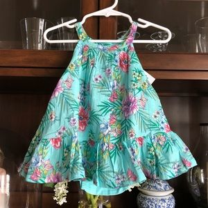 Baby Gap Hawaiian Floral Halter Dress Set NWT!!